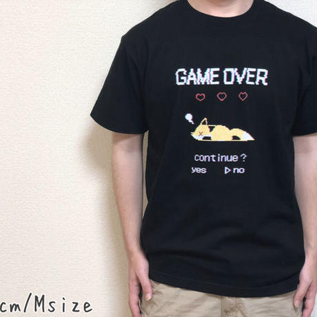 GAMEOVER Tシャツ(黒)