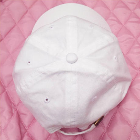CAP-Bunny & XOXO heart / WHITE