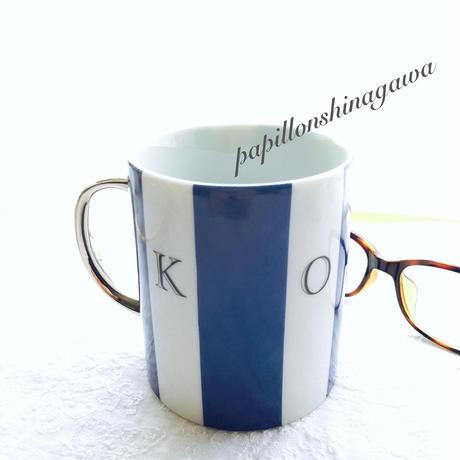 ストライプマグカップ