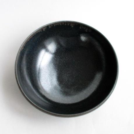 有馬和博:黒浅鉢(大)