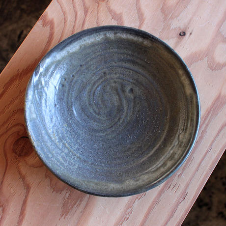 山田隆太郎:ガラス釉 7寸鉢