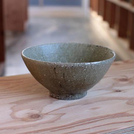 長谷川奈津:松灰釉 碗