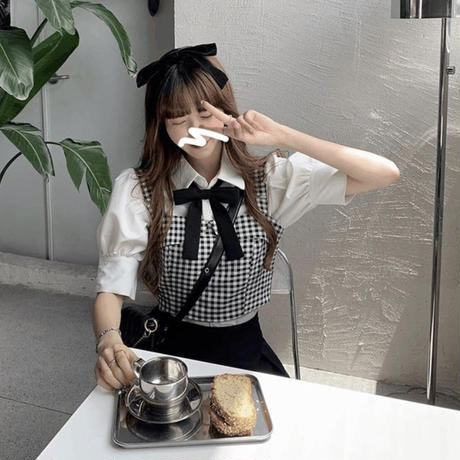 憧れのカフェ制服4点セット
