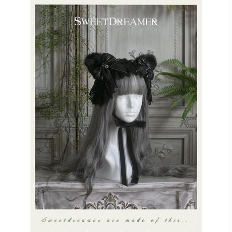 // SWEET DREAMER // ふわふわ猫ヘッドドレス