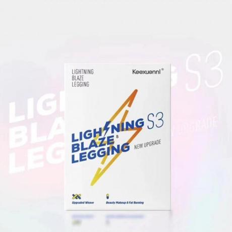 人気上昇中★全6色Keexuennl Lightning Blaze Legging S3