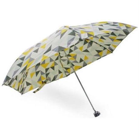 晴雨兼用三角幾何柄折り畳傘軽量スリムタイプ SKK