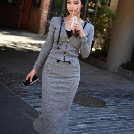 韓国ファッションカジュアルセットアップ S1018