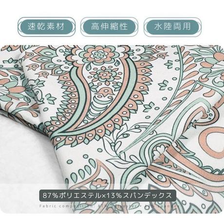 【新作】ペイズリー柄セットアップ HK004