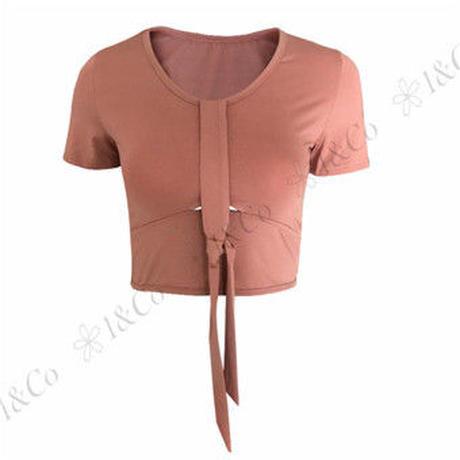 クロップTシャツ D51