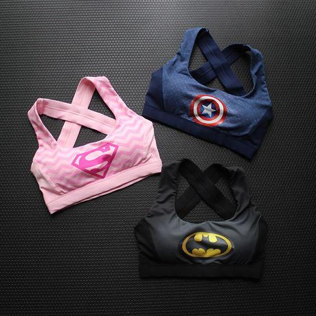 【取り寄せ商品】スーパーヒーロースポーツブラ WX710