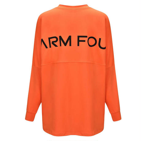 ゆったりバックプリント長袖Tシャツ C9002