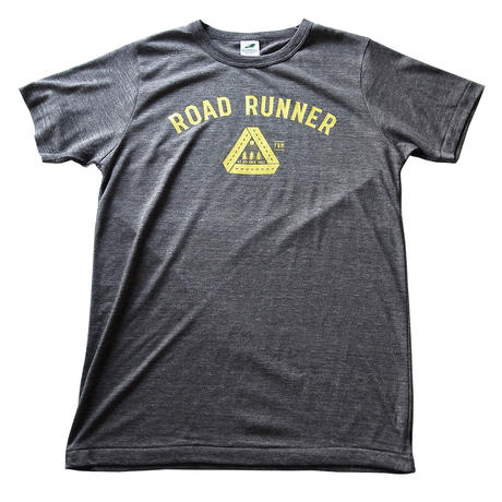 TRIBLEND F&M PRINT TEE / ROAD RUNNER