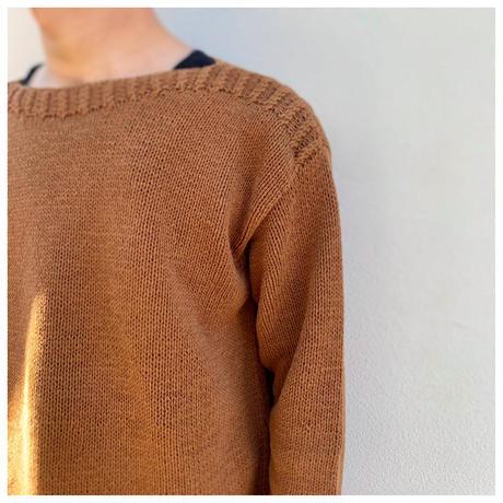 """1990s """"LAUREN"""" ハンドニットセーター"""