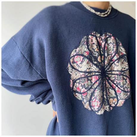 1990s デザインスウェットシャツ USA製
