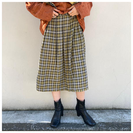 【レディース】1960s シャドープレイドスカート