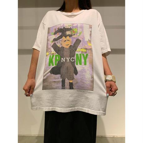 """90年代 """"カーミット&ミスピギー""""プリントTシャツ"""