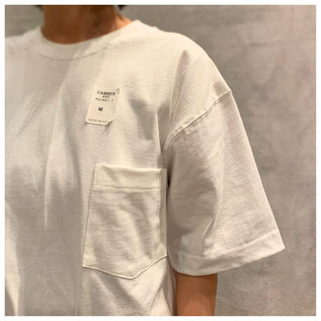 """CAMBER"" ポケットTシャツ USA製 size M"