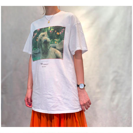 "2000s ""シュナウザー""プリントTシャツ"
