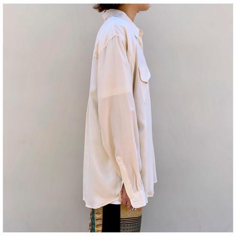 1990s シルクドレスシャツ