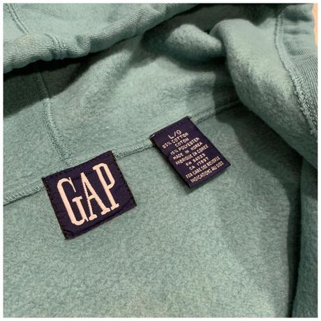 """1990s """"GAP"""" ハーフジップスウェットフーディー"""
