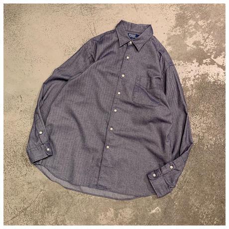 """1990s """"Polo by Ralph Lauren MARLOWE"""" コットンシャツ"""