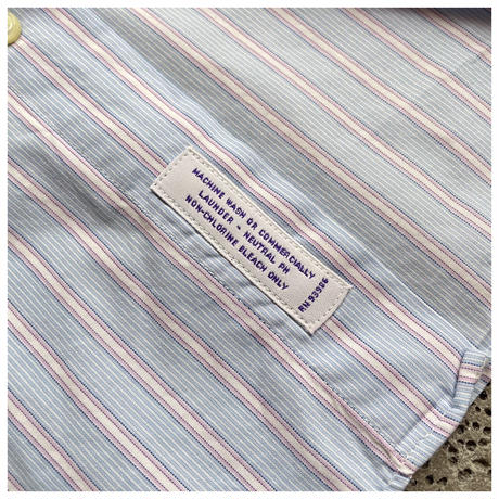"1990s ""BROOKS BROTHERS"" コットンストライプシャツ USA製"