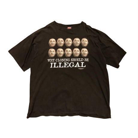 """The Three Stooges""print t-shirt ブラック 表記XL"