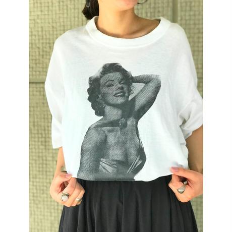 """Marilyn Monroe"" プリントTシャツ"