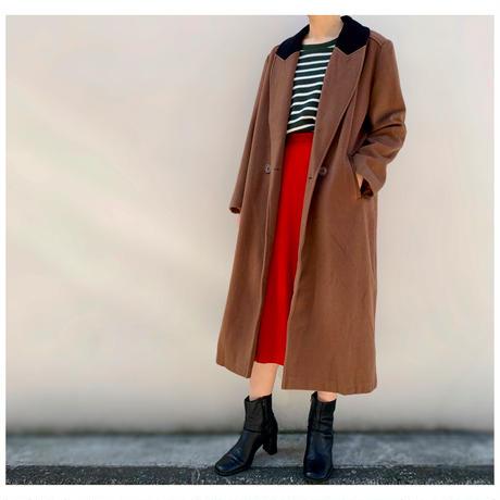 """【レディース】1990s """"Christian Dior"""" ウールデザインスカート USA製"""