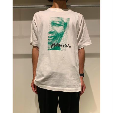 """90年代 """"Nelson  Mandela""""プリントTシャツ"""