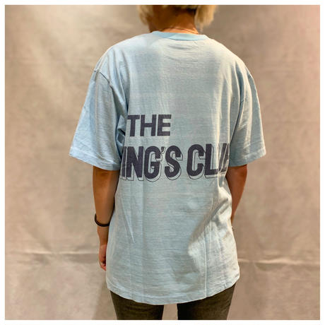 "1980s ""THE KING'S  CLUB"" プリントTシャツ"