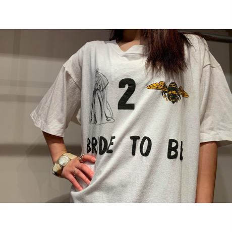 """""""BRIDE TO BE"""" プリントTシャツ"""