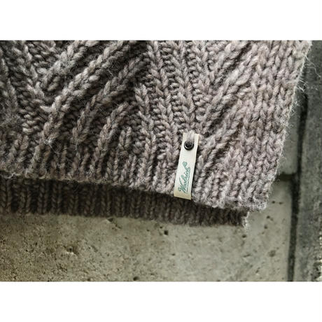 """woolrich"" fake layered turtle knit sweater グレー 表記M"
