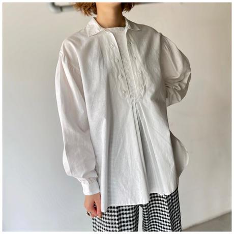 【レディース】1970s コットンスモッグシャツ オーストリア製