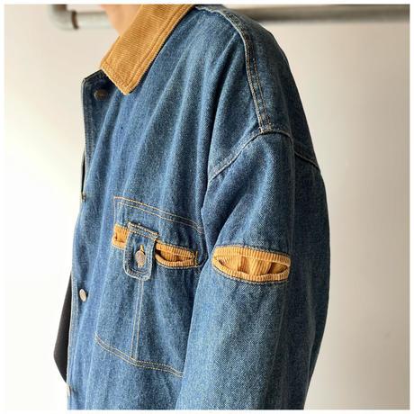 1990s デニムデザインコート