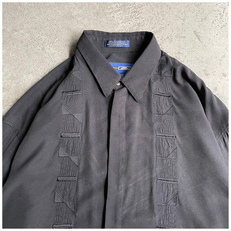 1990s ヴィスコースブレンドデザインシャツ