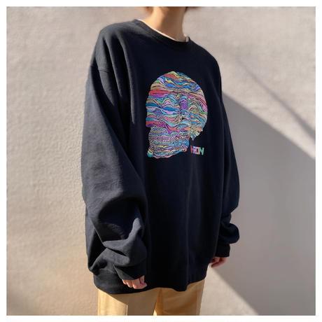 2000s プリントスウェットシャツ
