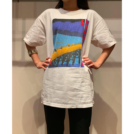 """HIROSHIGE"" プリントTシャツ"