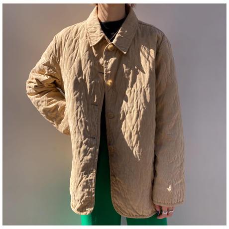 【レディース】1990s ♡柄フェイクスウェードジャケット