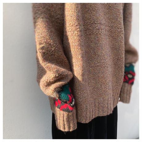 """1990s """"GAP"""" ウールハンドニットセーター"""