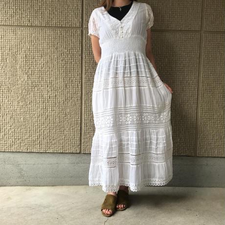 【レディース】インド綿ワンピース