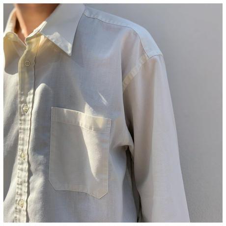 """1990s """"Christian Dior"""" コットンドレスシャツ"""