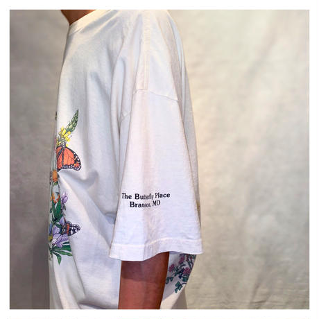 "1990s ""THE BUTTERFLY PLACE""プリント Tシャツ"