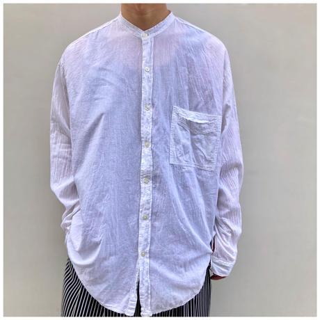 1990s コットンバンドカラーシャツ