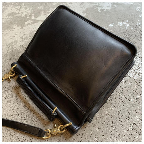 """1990s """"OLD COACH"""" レザー2way バッグ"""