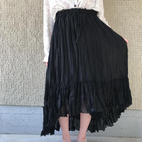 【レディース】ポリフレアフィッシュテールスカート