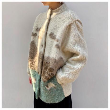 1960s ウールニットジャケット イングランド製