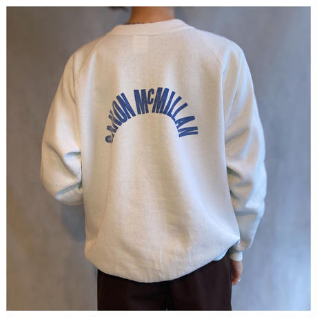 1980s プリントスウェットシャツ USA製