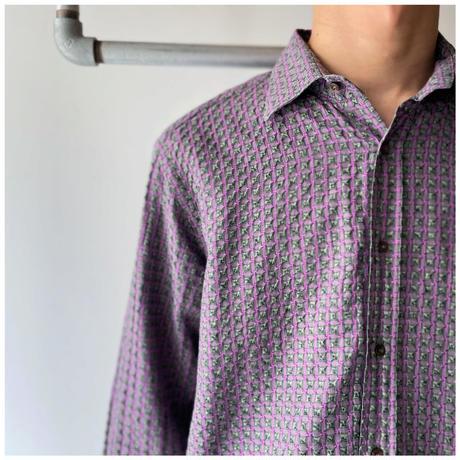 """2000s """"ETRO"""" ドレスシャツ イタリア製"""