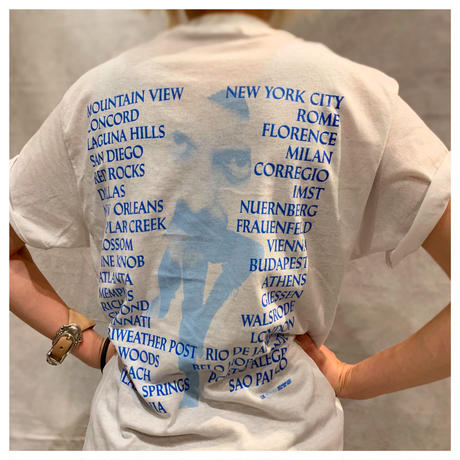 "1980s ""Jethro Tull"" プリントTシャツ USA製"